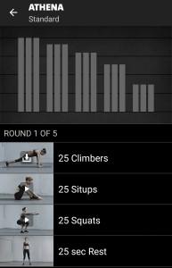 Athena Freeletics Workout - Standard