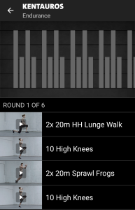 Kentauros Freeletics Workout - Endurance