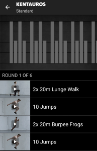 Kentauros Freeletics Workout - Standard
