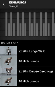 Kentauros Freeletics Workout - Strength