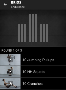 Krios Freeletics Workout - Endurance