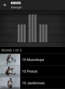 Krios Freeletics Workout - Strength