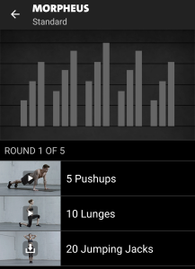 Morpheus Freeletics Workout - Standard