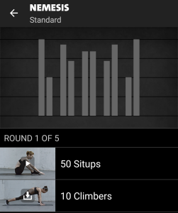 Nemesis Freeletics Workout - Standard