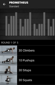 Prometheus - Freeletics Training - Std
