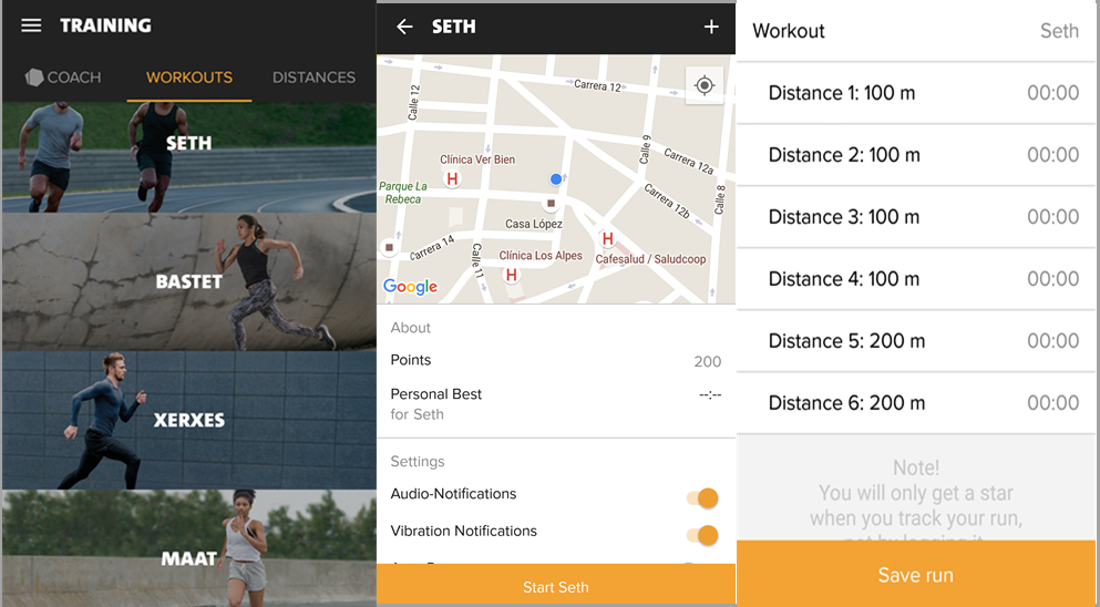 Freeletics Running Workouts - Seth