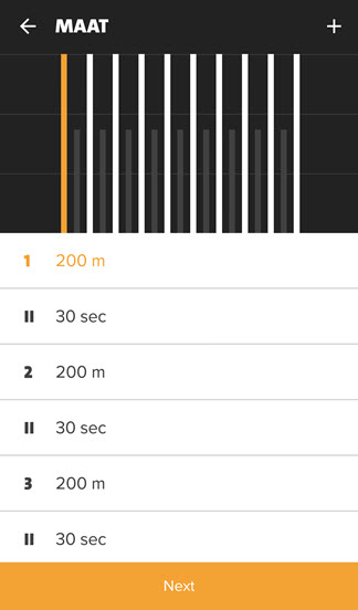 MAAT workout - freeletics